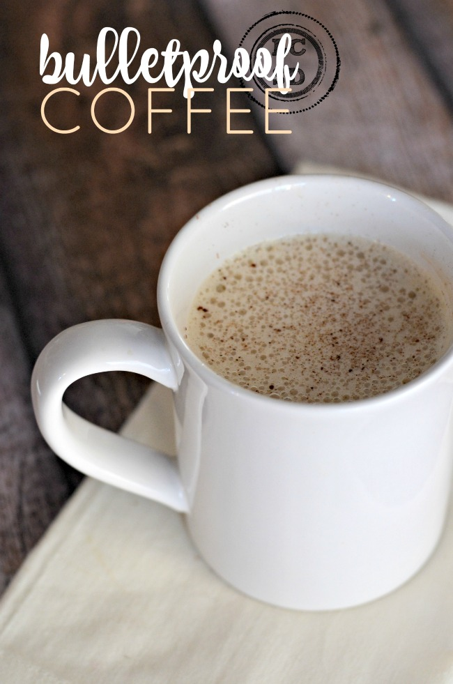 Bulletproof Coffee - a quick and easy way to start your day and increase your fat intake